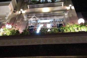 Bán gấp biệt thự siêu đẹp đường Thăng Long, P4, Tân Bình 6,3m x 13m, 1 trệt, 3 lầu (LH 0901311525)
