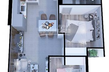 Bán căn hộ Eco Xuân rẻ nhất thị trường 2 phòng ngủ 67m2 giá chỉ 1.72tỷ (đã có thuế, phí sang tên)