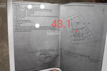Cần bán gấp mảnh đất, vị trí đẹp tại Thạch Bàn, Long Biên, diện tích: 43.1m2, giá 1.939 tỷ