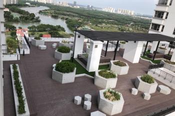 Cho thuê căn hộ 2 PN Saigon South full nội thất cao cấp, view sân vườn, xéo sông. Bao phí quản lý