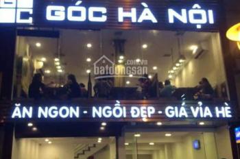 Cho thuê nhà mặt phố Đào Tấn, 60m2 x 5 tầng, MT 10m