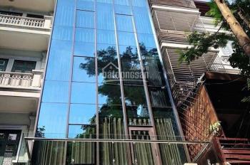 Bán tòa nhà văn phòng mặt phố Nguyễn Ngọc Vũ. Dt 171m2, mt 9m. cho thuê 230tr/th.