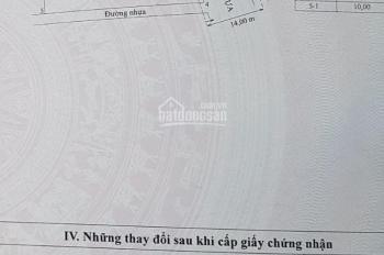 Cần bán đất 2 mặt tiền đường lớn 30/4, TP. Trà Vinh