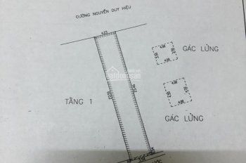 Bán nhà mặt tiền đường Nguyễn Duy Hiệu, phường An Hải Đông, Sơn Trà