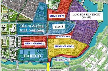 Bán suất ngoại giao liền kề, biệt thự dự án khu nhà ở Minh Đức Mê Linh giá từ 16.5tr/m2, DT: 102m2