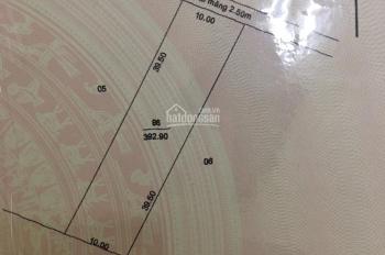 Bán đất lộ đan 2.5 mét thuộc xã Lý Văn Lâm gần trung tâm P8 gần ủy ban xã Lý Văn Lâm