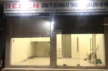 Chính chủ cần cho thuê cửa hàng ngõ 210 Hoàng Quốc Việt