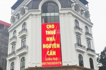Cho thuê nhà phố Lê Đức Thọ 200m2 x 6 tầng, mt 30m, sân vườn 400m2 cực đẹp.Lh 0974585078