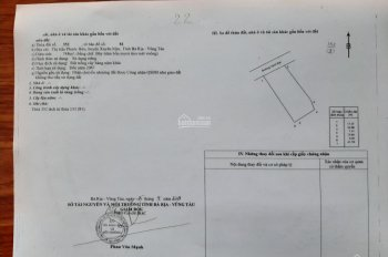 Chính chủ cần bán lô đất sổ hồng riêng trung tâm thị trấn Phước Bửu, Xuyên Mộc, Bà Rịa Vũng Tàu