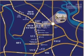 Bán đất Lộc Phát Residence - Thuận Giao, đường D1 - lock B2 giá 2tỷ650