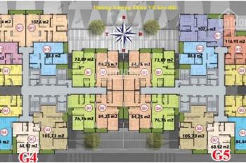 Bán gấp căn góc ban công Đông Nam 3PN, 104m2 giá 3.2 tỷ dự án Five Star Kim Giang, LH: 0904250981