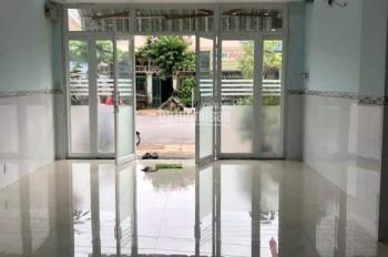 Cho thuê mặt bằng 2 lầu 4 phòng làm spa, văn phòng cty hoặc ở, mặt tiền đường Số 8, KDC Hiệp Thành