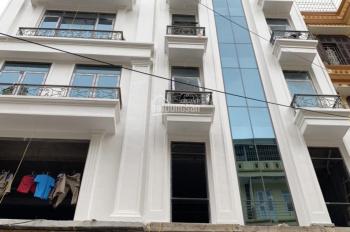 Cần cho thuê nhà MP Lê Trọng Tấn (Thanh Xuân), 80m2 * 8T + hầm, MT 6m, có thang máy. Giá 76tr/th