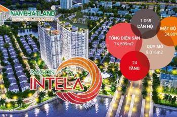 (CĐT) chỉ 400 triệu sở hữu CH Sài Gòn Intea, giá 1.25 tỷ/2PN, 3PN/1.8 tỷ, LH 0901675744 - TPKD