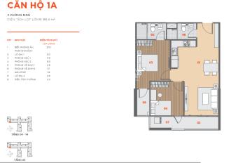 Cần bán gấp căn Hausbelo 2PN 66m2, giá gốc HĐ chỉ 1.6 tỷ