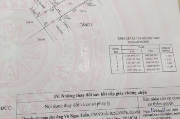 Bán đất đường Tam Bình, Thủ Đức, 52m2 giá 2 tỷ 780, LH 0902753152