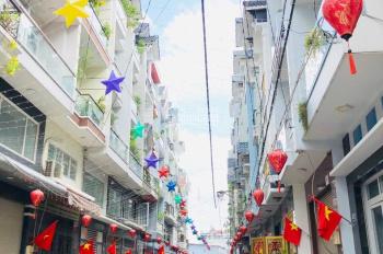 Nhà cho thuê đường Bờ Bao Tân Thắng, DT 4x15m, 2 lầu, 4PN. Giá 16.5tr