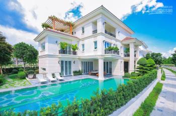 Cho thuê biệt thự lô góc Vinhomes Gardenia mặt phố Hàm Nghi. DT 250m2 x 5T siêu đẹp
