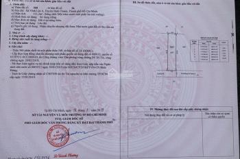 Đất chính chủ bán sỉ 3 nền KDC Vĩnh Lộc A, Bình Chánh. SHR, giá 25tr/m2, LH: 0903750526 xem đất