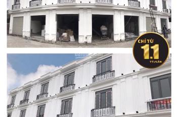 Bán nhà 3 tầng, khung cột chịu lực, ô tô đỗ cửa, trung tâm thị trấn An Dương, Hải Phòng