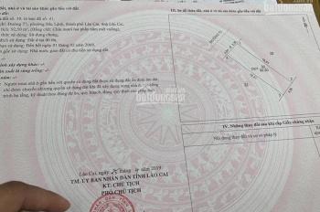 Bán nhà đất tại khu đô thị B6 Lào Cai CĐT Cty 45. Sổ đỏ trao tay nhận ngay quà tặng ghế tình yêu