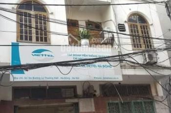 Chính chủ cho thuê nhà mặt phố Quang Trung - Hà Đông dt 160m2 x 3 tầng
