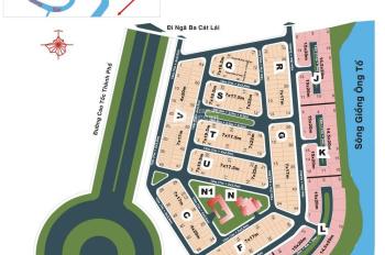 Bán đất KDC Phú Nhuận sông Giồng, đường Thân Văn Nhiếp, An Phú, Q 2, DT 144m, giá 88 tr/m2, sổ đỏ