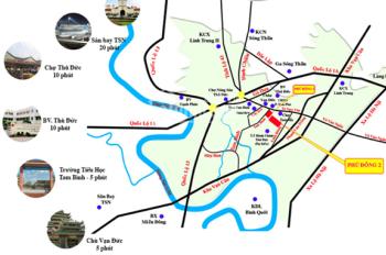Tôi cần Thanh Lý vài nền đất tại KDC Phú Đông - gần đường Tô Ngọc Vân, Thủ Đức. 2tỷ1/ 60m2 sổ hồng