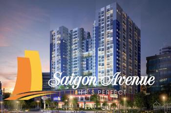 Bán nhanh các CH Sài Gòn Avenue, 77m2 3PN 2WC 2.05tỷ vay ngân hàng tối đa 0939720039 bao hết phí