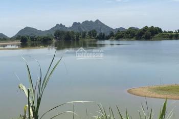 Bán gấp 8459m2 đất sổ đỏ có 850m2 thổ cư bám mặt hồ Đồng Chanh xã Nhuận Trạch, huyện Lương Sơn