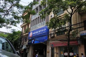 Chính chủ cho thuê tầng 3 tòa nhà số 7 Trần Khánh Dư 8 tầng nổi, 1 hầm. Bảo vệ 24/7. LH: 0853045263