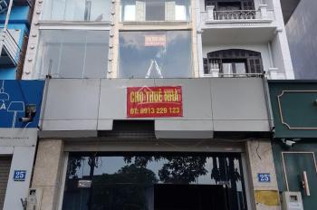 Tôi chính chủ cần cho thuê nhà mặt phố 25B Trần Duy Hưng, Cầu Giấy, Hà Nội, DT: 86m2, 0913229123
