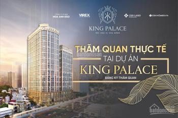 Bán CC King Palace 108 Nguyễn Trãi - full nội thất - vay LS 0%/18 tháng, chỉ từ 4 tỷ/căn 3 PN