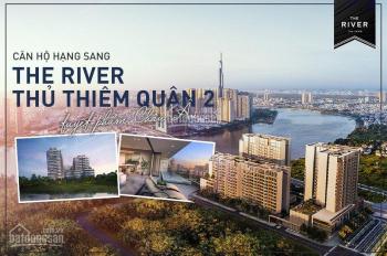 """Booking ngay """"The River Thủ Thiêm"""" - Pháp lý hoàn chỉnh - TT 15% ký HĐMB - LH: 0909927576 - Huy"""