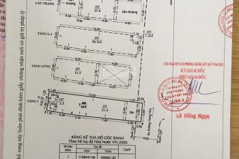 Bán nhà mới xây 1 trệt 3 lầu, đường Lưu Quý Kỳ và Hưng Phú, DT 4x16m, sổ riêng, giá 7.050 tỷ