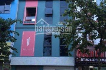 Cho thuê nhà đẹp mặt phố Quan Hoa, Cầu Giấy. DT 75m2 x 4 tầng, MT 8m, LH: Gia Linh 0399.909.083