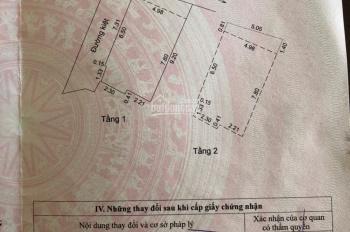 Bán nhà 2 tầng 2 mặt kiệt Trưng Nữ Vương, Hải Châu, Đà Nẵng. DT 43,3m2, giá 3,15 tỷ