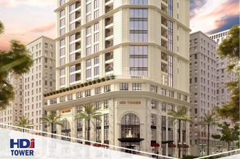 Chủ nhà bán lại căn góc 2PN, 79m2, HDI Tower 55 Lê Đại Hành, tầng cao view đẹp, full nội thất