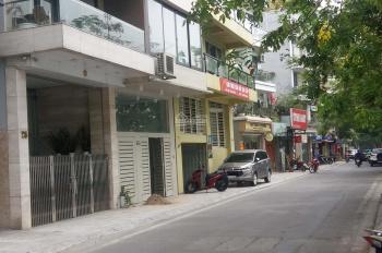 Cho thuê nhà mặt hồ phố Nhật Chiêu, 100m2, 5 tầng, mặt tiền 9m, làm cafe, nhà hàng, VP
