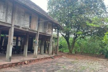 Bán khuôn viên hoàn thiện có nhà sàn đẹp tại Lương Sơn, Hòa Bình diện tích 5.966m2