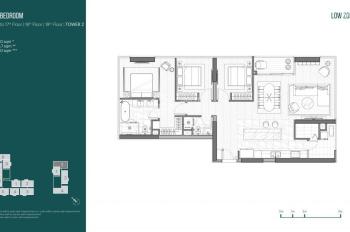 Bán lỗ căn hộ 3 phòng ngủ Linden Empire, tầng 10 giá 13.8 tỷ (152m2). Gọi 0938 506906 Anh Chris