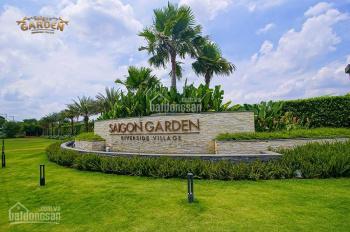Bán đất nền biệt thự vườn Q9 Saigon Garden Riverside Village DT 1000 - 1500m2, 0916019661