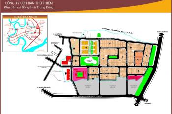 Bán lô H13 góc 2 mặt tiền đường 16m và 12m dự án Đông Thủ Thiêm, Quận 2. DT: 11 x 22m, TDT 230m2