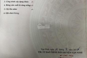 Bán đất giá rẻ tại Thôn Tân Đức Đông, Vạn Lương (địa giới mở rộng thị xã Vạn Giã), Vạn Ninh