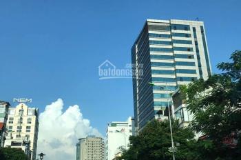 Bán tòa nhà 8 tầng 1 hầm mặt phố Ngũ Xã, Trúc Bạch, Ba Đình, DT 76m2x9T lô góc 2 mặt tiền giá 23 tỷ