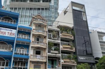 Siêu vip, bán nhà mặt phố Hùng Vương, Q. 10, DT: 8x25m, 4 lầu, giá thuê 1,68 tỷ/năm