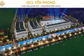 Mở bán đợt 1 đất dự án N01 Bắc Ninh khu đô thị QCL Yên Phong giá gốc chủ đầu tư, LH: 0969666020