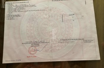 Kẹt tiền bán gấp 380m2 đất ngay Hòa Khánh Nam, Đức Hòa, sổ riêng sang tên ngay
