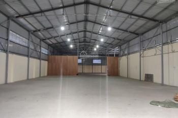 Cho thuê 3 kho xưởng DT 700m2, 500m2 và 1100m2 mới trả mặt bằng gần Vĩnh Niệm