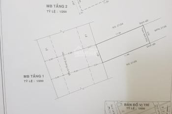 Bán nhà mặt tiền nội bộ 25 Lê Ngã, giáp Tân Bình, DT 4,6x12m, gác suốt, đường 12m có lề, 5.8 tỷ